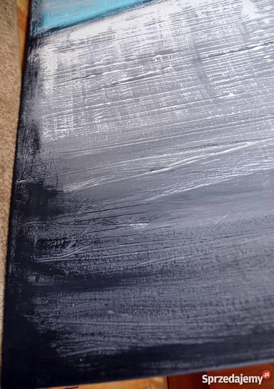 Abstrakcja TS1 nowoczesny obraz ręcznie malowany Malbork