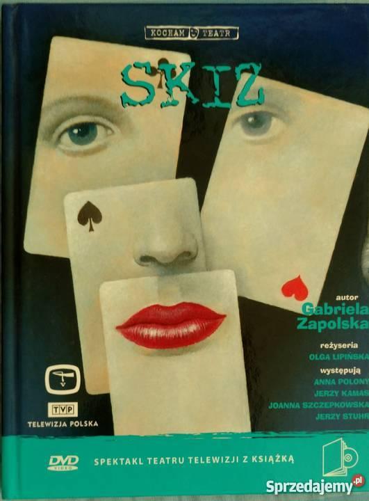 ZAPOLSKA Skiz OLGA LIPIŃSKA POLONY książka DVD DVD sprzedam