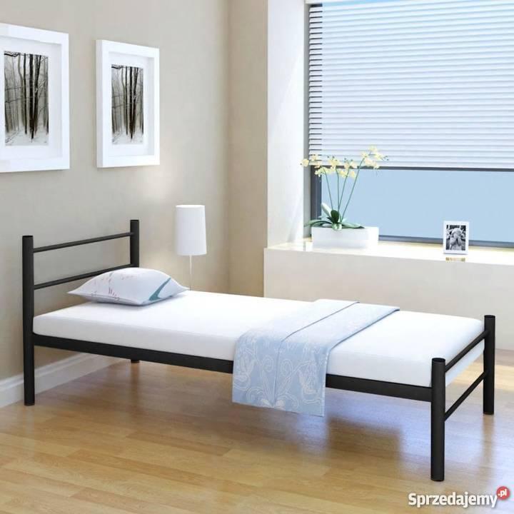 Vidaxl Pojedyncze łóżko Metalowe 274658