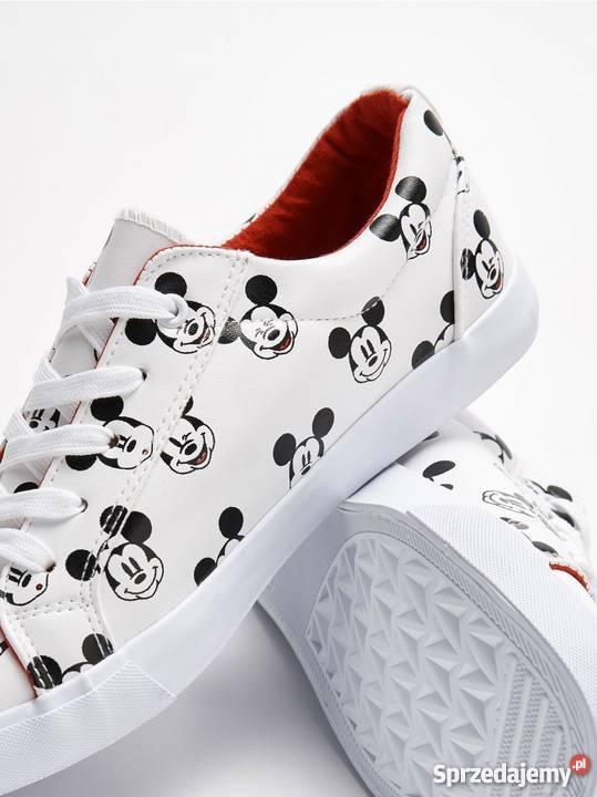 Nowe z metką Buty Trampki Mickey Mouse 39 Myszka Miki