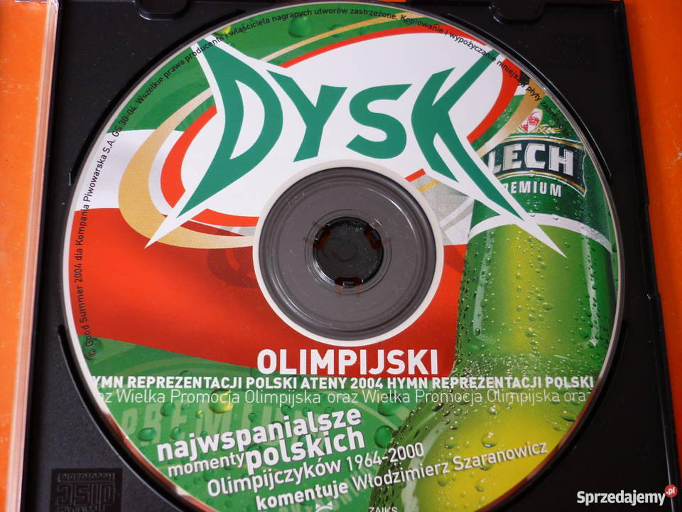 Płyta VCD Dysk olimpijski Smolik i Rojek Warszawa