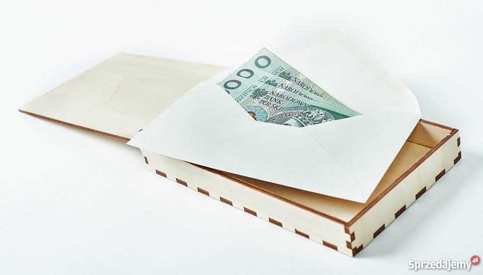 Pamiątka Chrztu Świętego pudełko na pieniądze Warszawa
