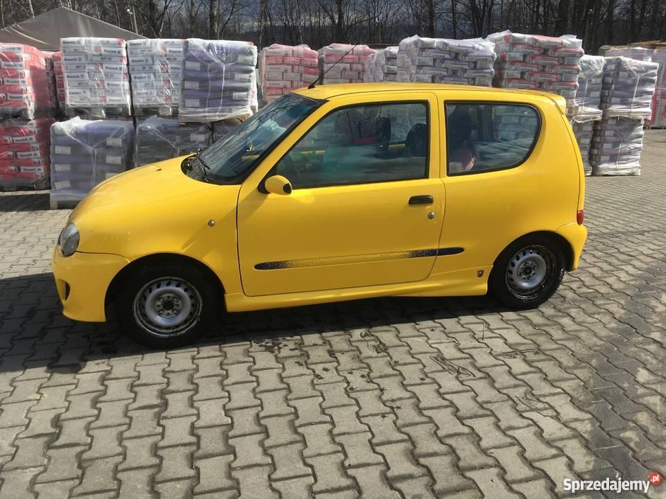 Fiat Seicento Sporting 11 SPI centralny zamek Seicento śląskie Twardorzeczka