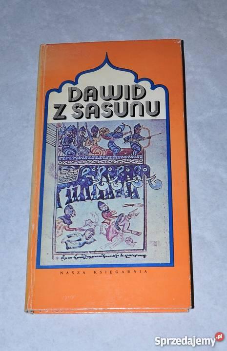 DAWID Z SASUNU epos staroarmeński mazowieckie
