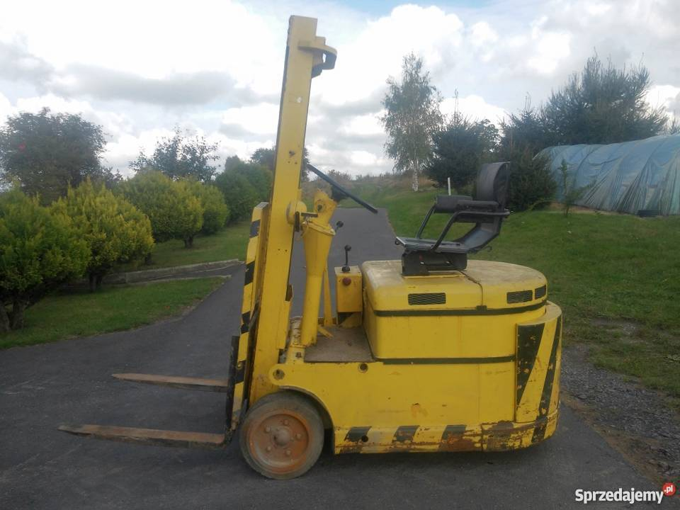 Elektryczny Wózek Widłowy Suchedniów WW 24V dolnośląskie Zgorzelec