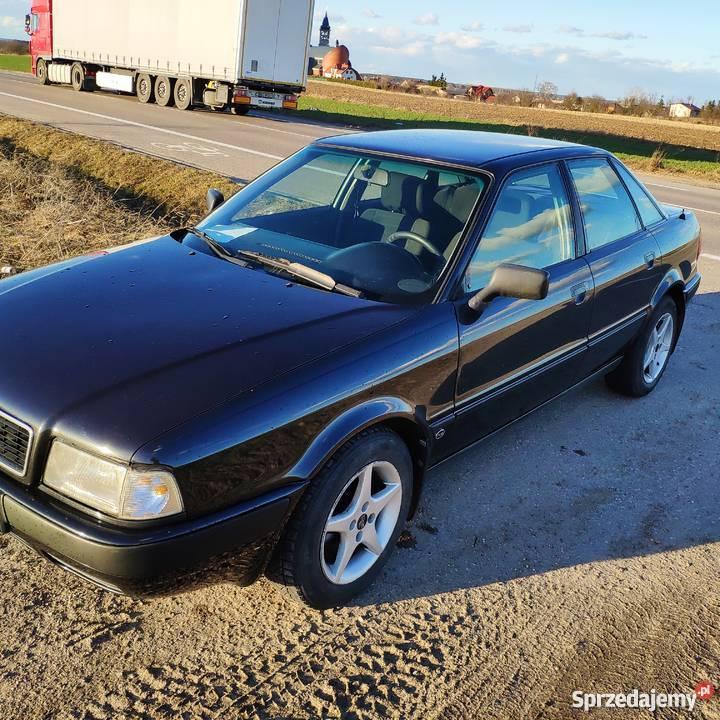 Audi 80 B4 2.0 LPG benzyna + gaz 1992 90KM zadbany ...