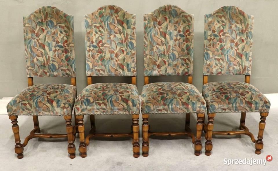2744 tapicerowane krzesła, kpl 4 szt
