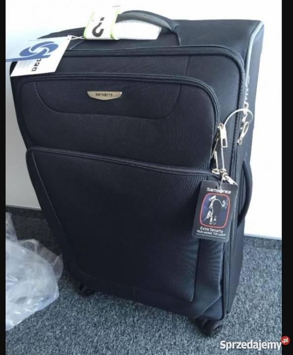 de741a6c16b84 Walizka Samsonite duża cztery kółka 79x48x36 na Torby, plecaki i walizki  Warszawa