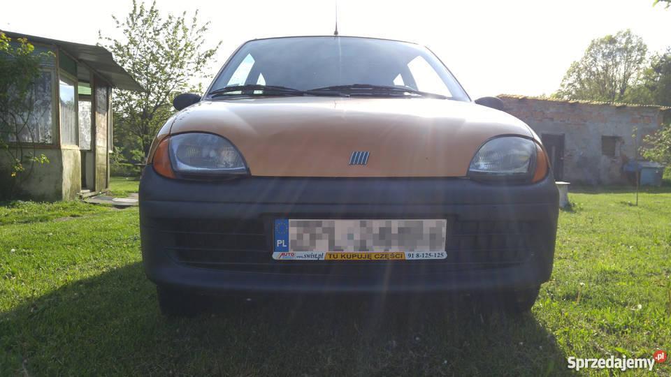 Fiat Seicento Young 2000r pojemność 900 Police