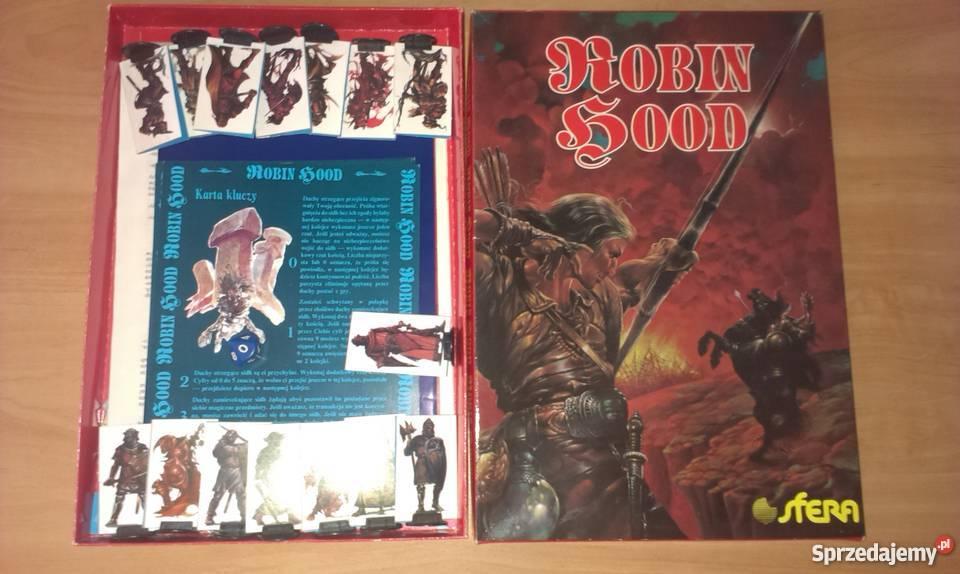 gra planszowa Robin Hood Warszawa