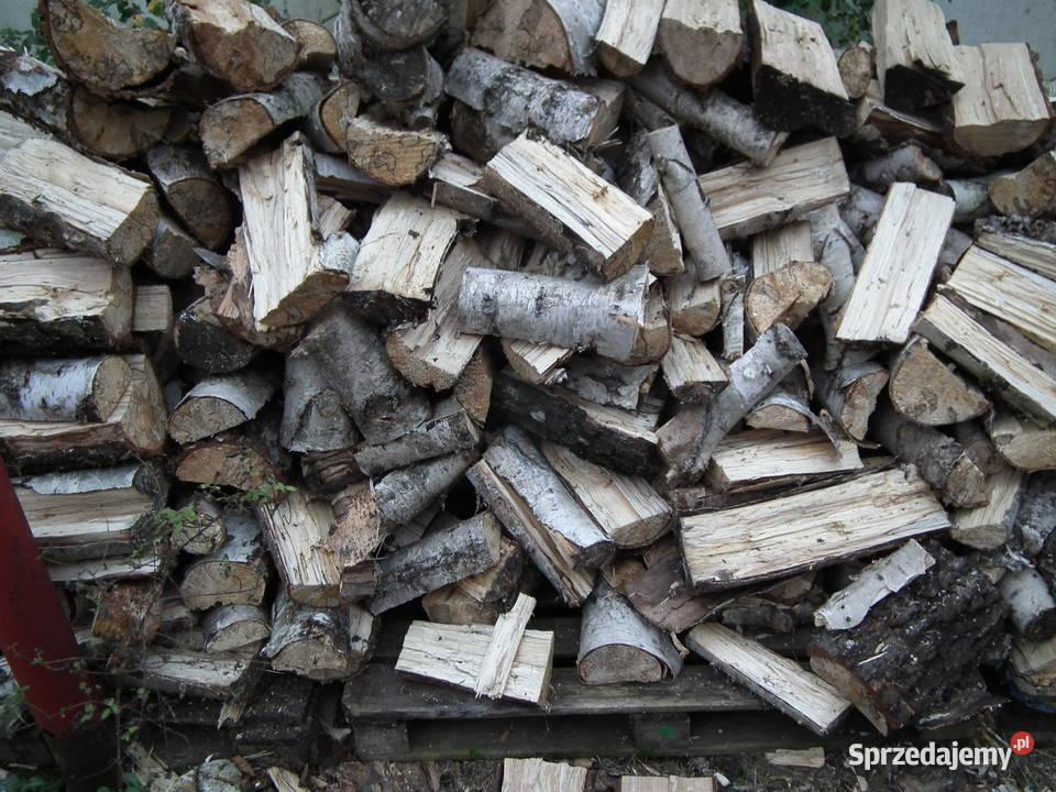 Drewno kominkowe opałowe workowane worki rozpałkowe do wędze
