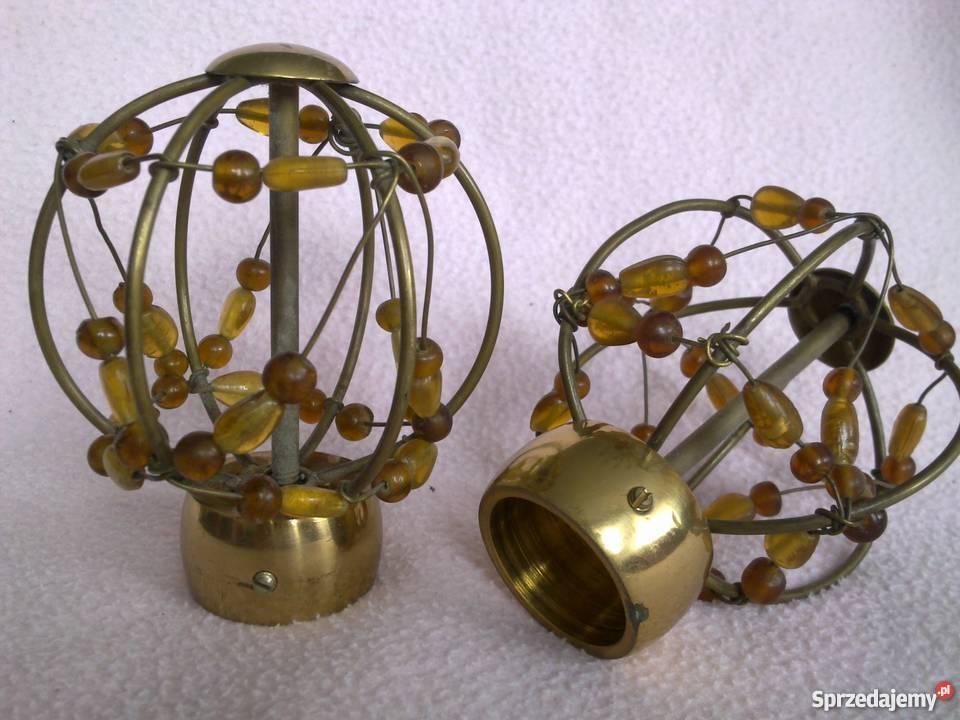 Czajnik mosiądz dzwonek świeczniki i inne
