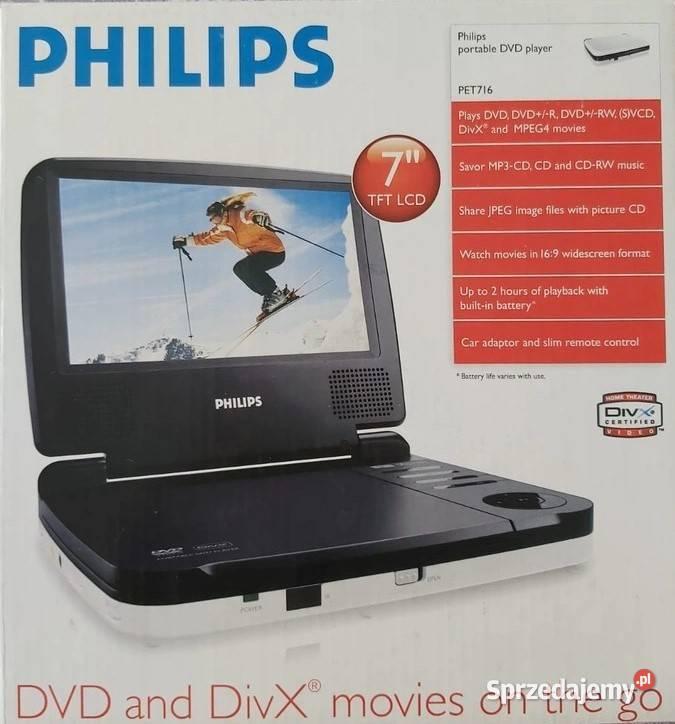 Przenośny odtwarzacz DVD PHILIPS PET716