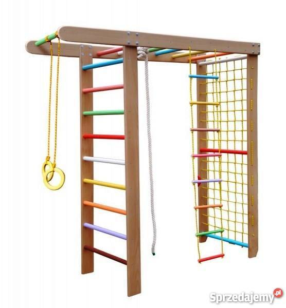 Unikalne Drabinka gimnastyczna, zestaw do ćwiczeń dla dzieci, placyk HA43