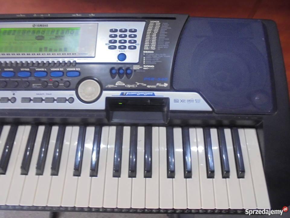Keyboard Yamaha PSR540 Yamaha Katowice