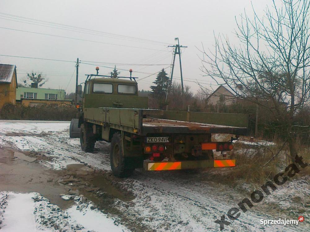 Iveco Magirus 4X4 Wszędołaz piaskarka pług 2250km Koszalin sprzedam