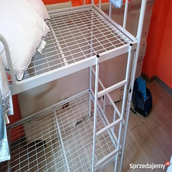 Łóżka piętrowe pracownicze stalowe łatwy montaż Lubin