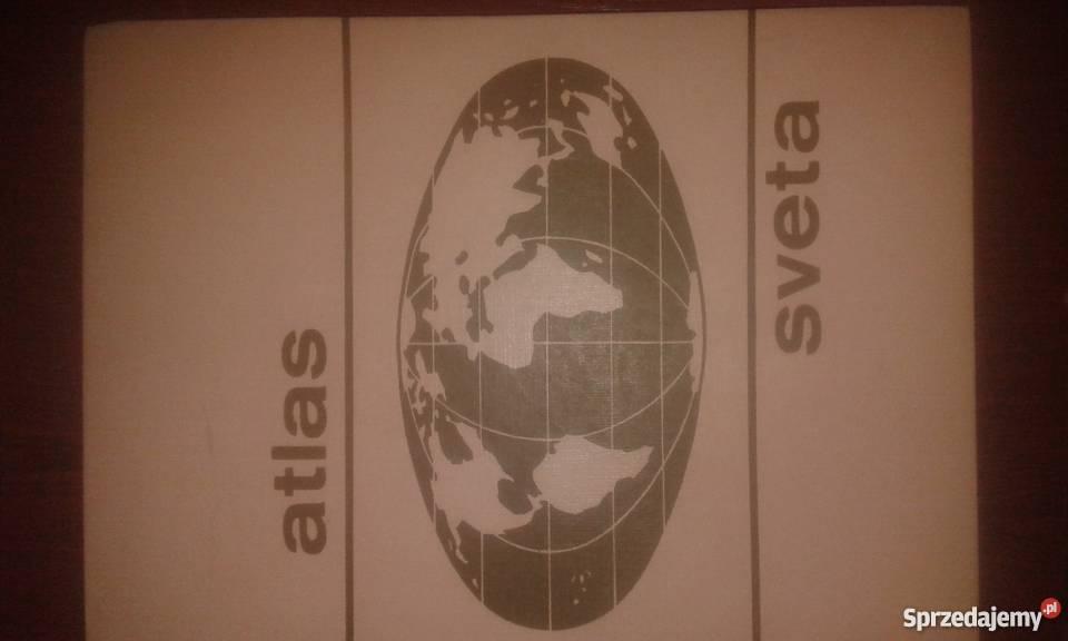 ATLAS SVETA-ATLAS SWIATA CZECHOSLOWACKI
