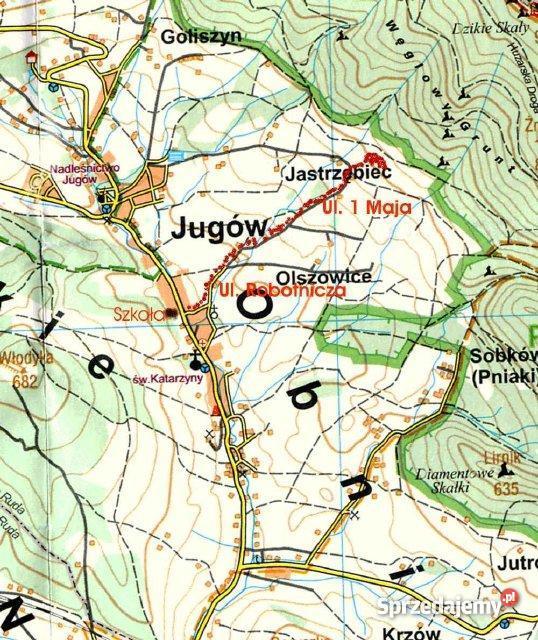 działki widokowe Jugów dolnośląskie Jugów