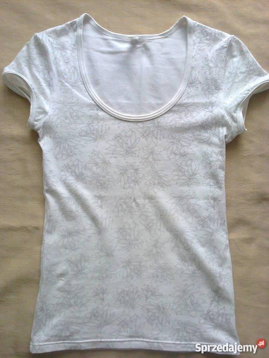 68fc23e06cd8d6 biały t shirt damski - Sprzedajemy.pl