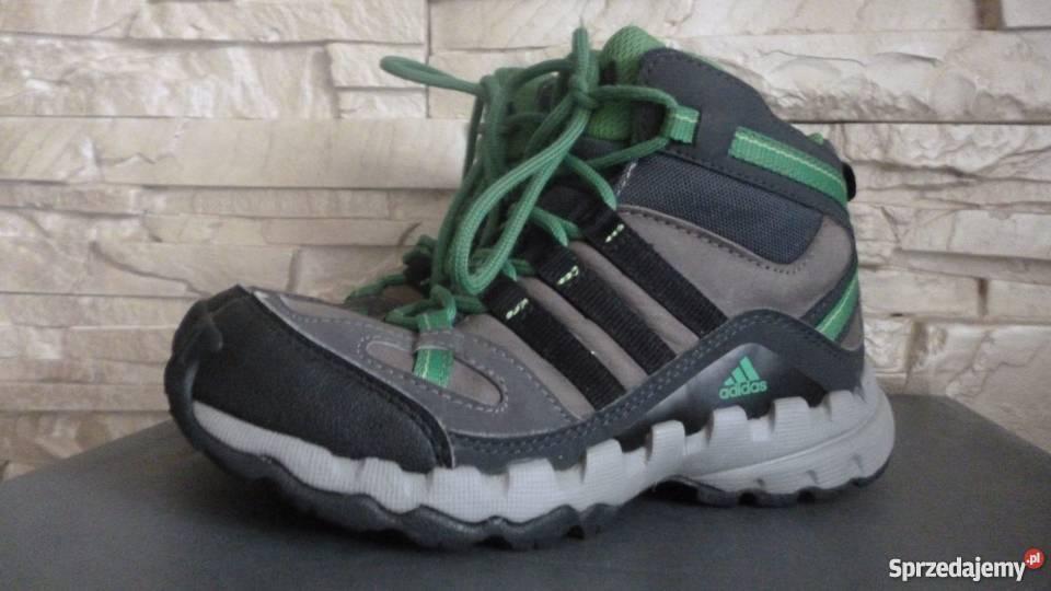 ADIDAS Ax 1 Mid Lea skórzane buty na jesień i zimę, r.31