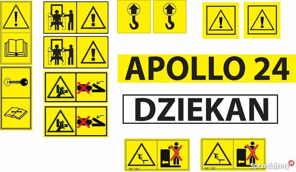 Wybitny Wszystkie naklejki na maszyny Naklejki piktogramy ostrzegawc CD39