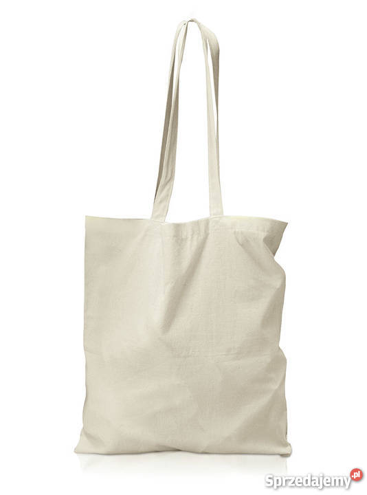 Tylko na zewnątrz torby bawełniane bez nadruku - Sprzedajemy.pl FF51