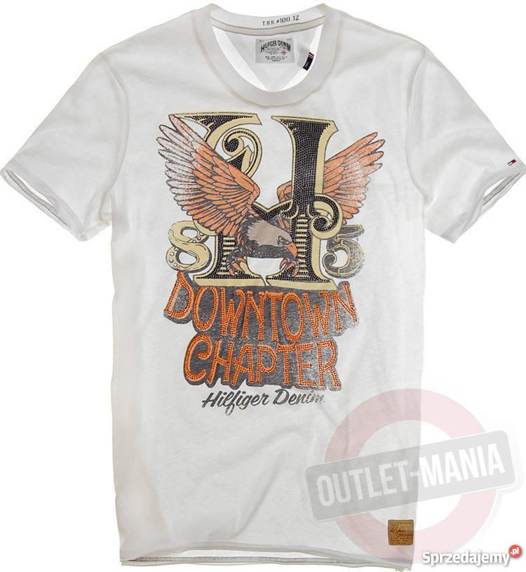 bb81e7ae1adfd TOMMY HILFIGER firmowa koszulka Tommy Hilfiger Odzież codzienna śląskie  Siemianowice Śląskie