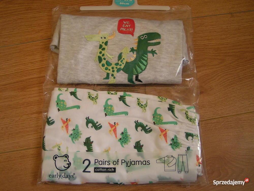 26849a165b7972 Piżamka dla chłopca NOWA 100% bawełna - Sprzedajemy.pl