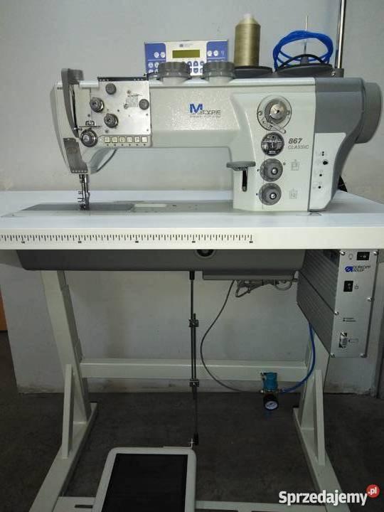 Maszyny do szycia Durkopp Adler 867 automaty Piaski