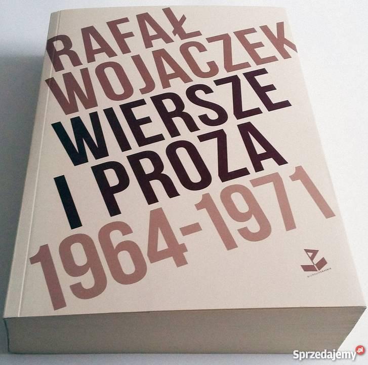 Wiersze I Proza 1964 1971 Wojaczek Rafał