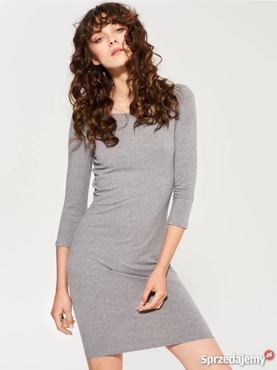 2e522ac9 Szara sukienka Sinsay, rozm.S