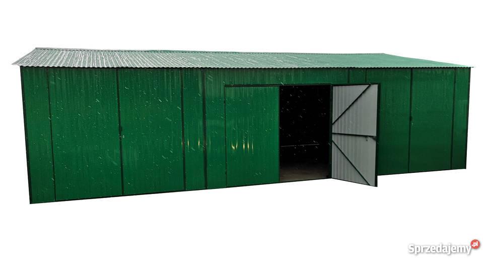 Hala Magazyn Produkcja Rolnictwo Wiata blaszak garaż 7x15