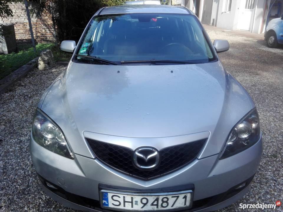 Mazda 3 klima sprawna jeżdząca fajna zadbana Sosnowiec