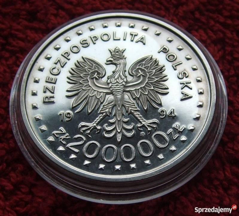 MONETA 200000 POWSTANIE KOŚCIUSZKOWSKIE 1994 Katowice