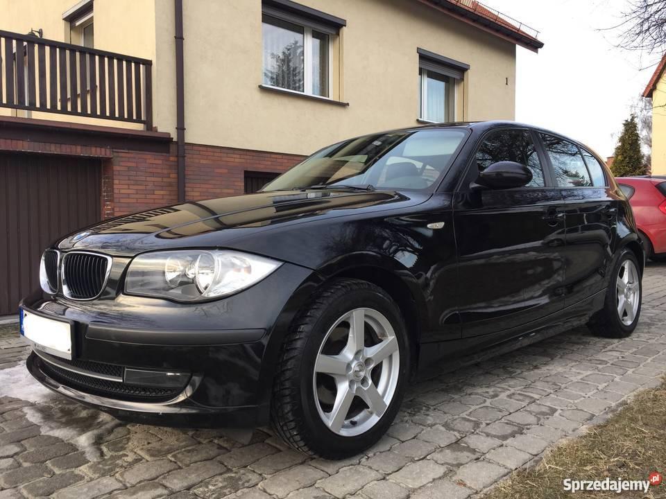 BMW seria 1 116i CZARNY IDEALNY STAN śląskie