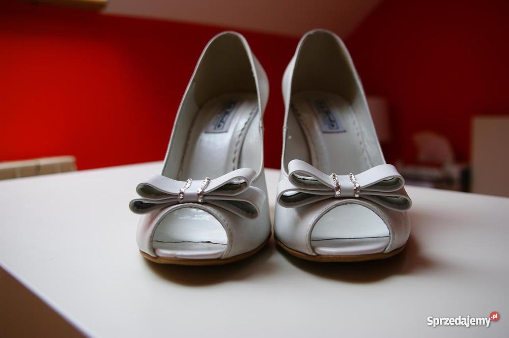 Skórzane buty ślubne Moda i Styl