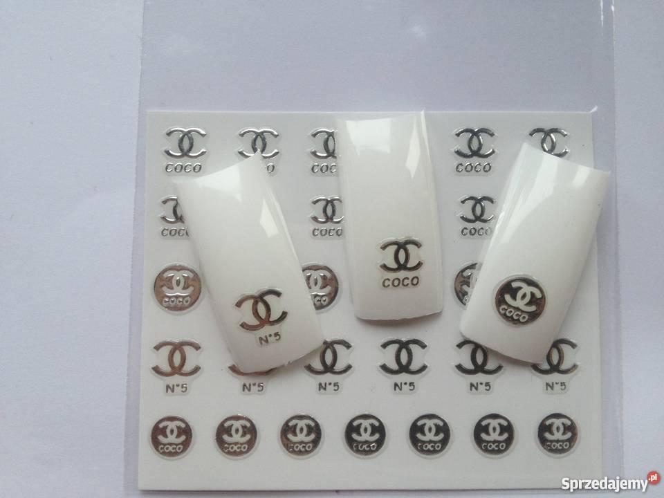Chanel Naklejki Na Paznokcie 3 D Samoprzylepne Leszno Sprzedajemypl