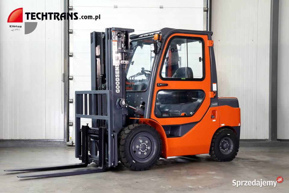 Wózek widłowy nowy Goodsense FD35  3500 Kg DIESEL  Kabina