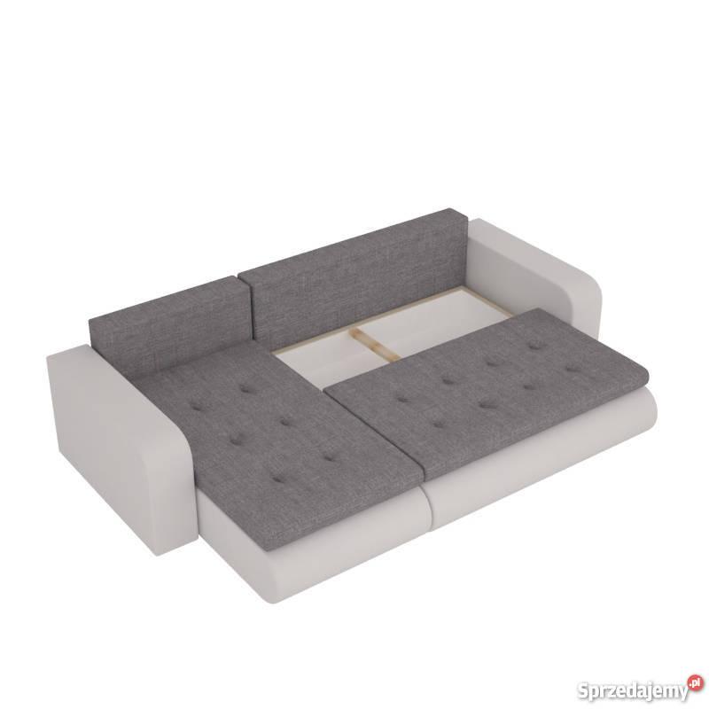 DOSTAWA Narożnik rozkładany rogówka kanapa łóżko pomarańczowy wielkopolskie Poznań