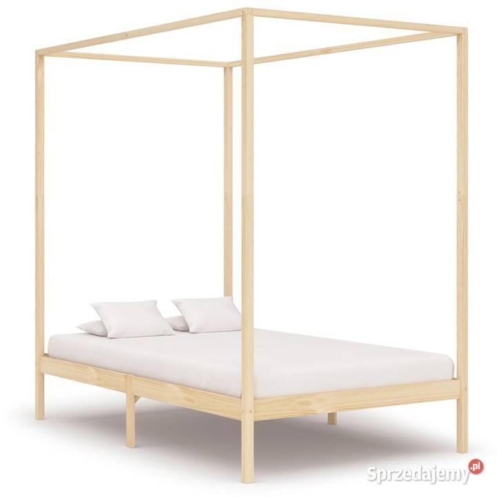 vidaXL Rama łóżka z baldachimem,  283253