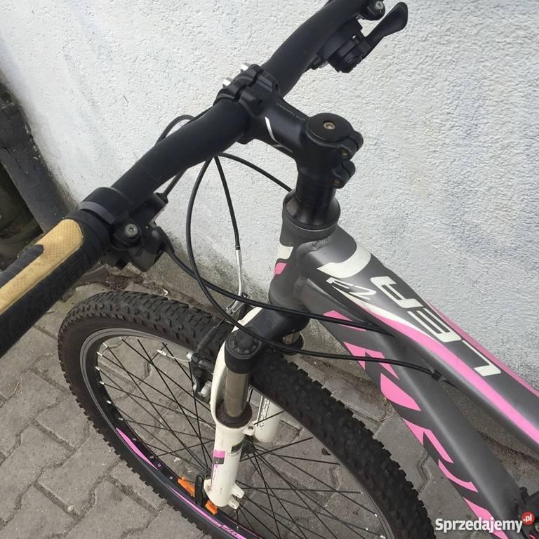 Rower KROSS LEA F2 różowografitowy Warszawa