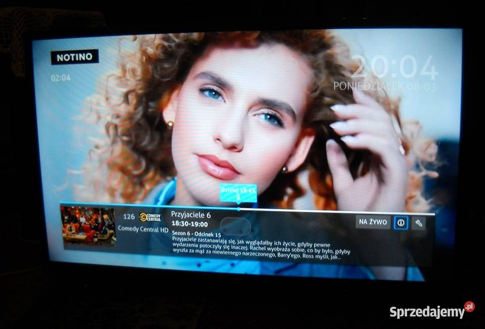 "TV SMART LED 32 cale ""LIN"" z DVB-T, pilotem/podstawą"