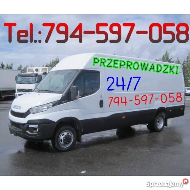 Bagazowka transport przeprowadzki