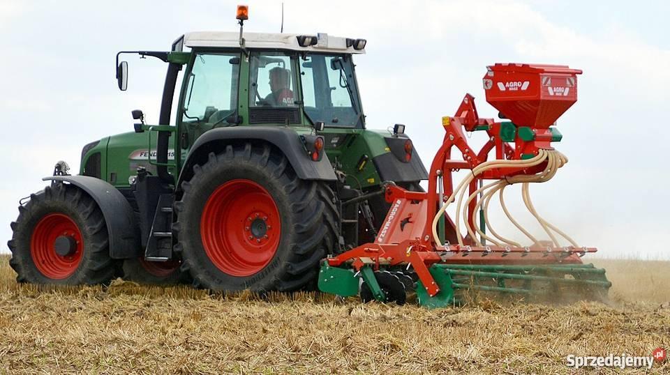 Fantastyczny Agro-Masz Siewnik SP 200 Poplonów Tanie Maszyny AgroMasz Walne  @SP-14