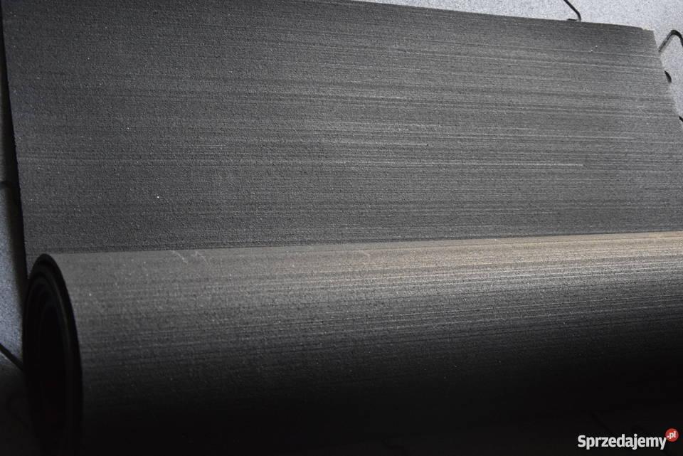 Mata gumowa w rolce 4mm czarna wewnętrzne warmińsko-mazurskie Olsztyn sprzedam