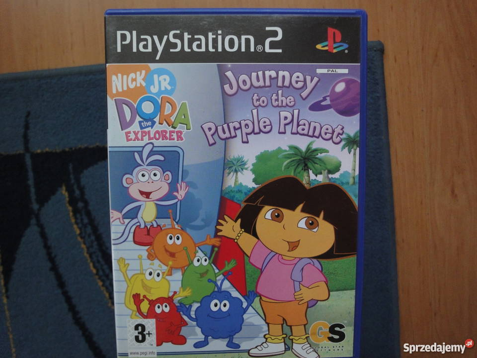 Dora the Explorer Journey to the Purple Planet Gry na konsole Kultura i Rozrywka małopolskie Kraków