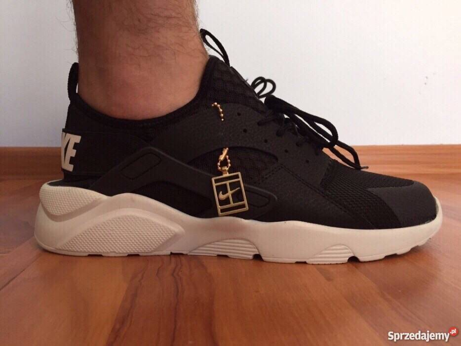 on sale 2cbe6 3efbd Czarne Białe Nike Huarache rozmiar 41 (26,5 cm) Wyprzedaż Warszawa ...