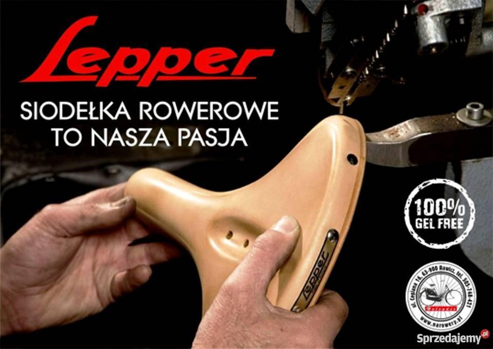 Skórzane Damskie siodełko Lepper PRIMUS SUPER mazowieckie sprzedam