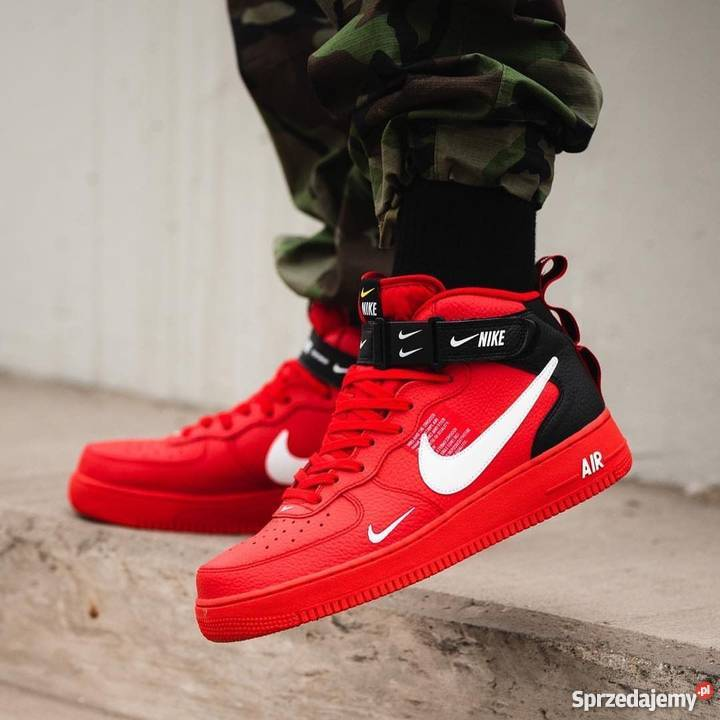 Nike Air Force 1 Mid Utility Red r40 44